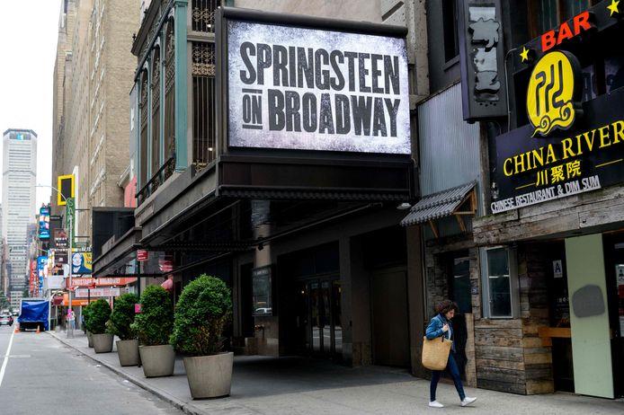 Springsteen treedt van 26 juni tot en met 4 september op in het St. James Theatre.