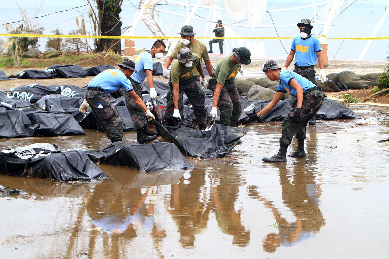 Tyfoon Haiyan kostte vorig jaar het leven aan 1.774 Filipijnen.