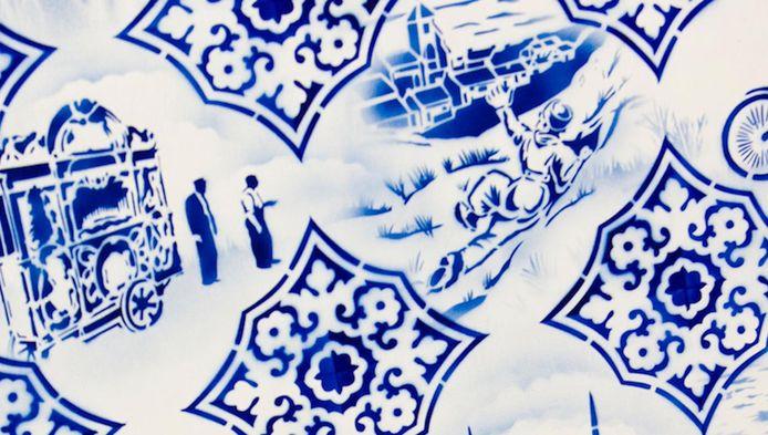 De winnaar ontvangt de Blauwe Tegel, een Delftsblauw tegeltje met de eigen slogan.