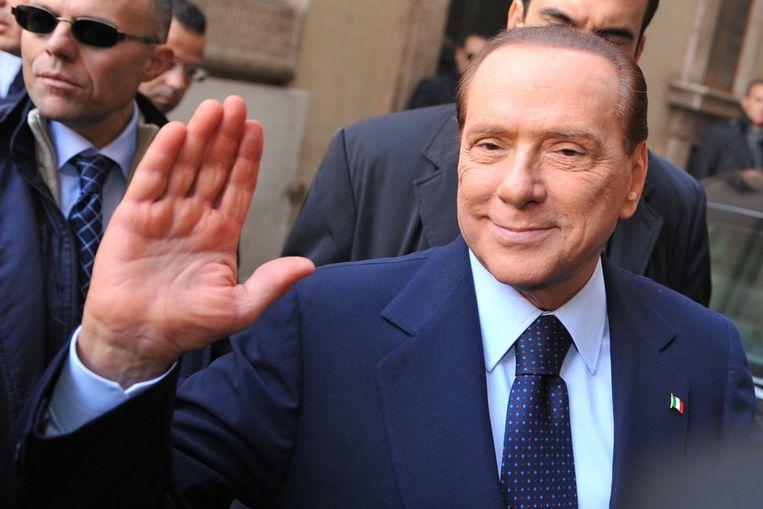 In 2011 moest Berlusconi zijn positie als premier opgeven. Beeld AFP