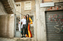 Marije Graafsma en Ovan Abdullah storten zich op de mode.
