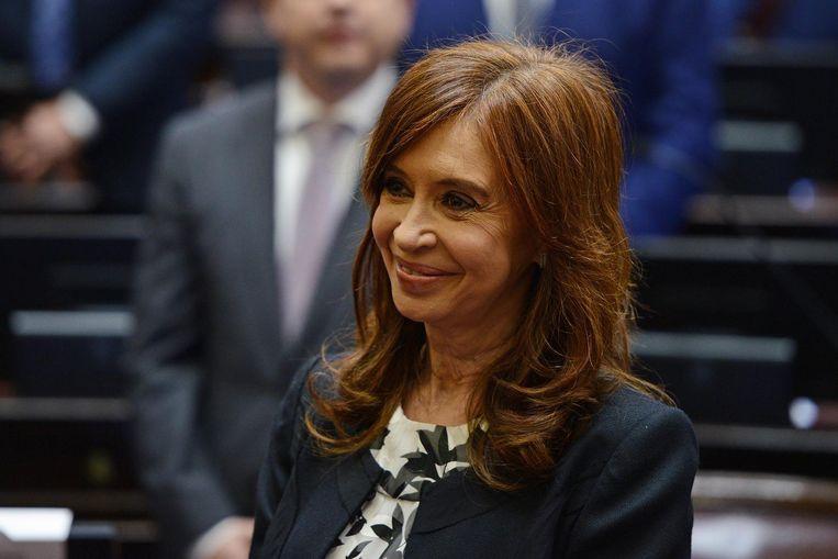 Argentijns oud-president Cristina Kirchner. Beeld AFP