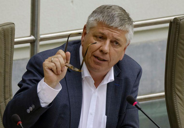 Archiefbeeld van Vlaams minister van Welzijn Jo Vandeurzen (CD&V). Beeld BELGA