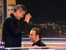 Jean Dujardin et George Clooney font les fous au JT