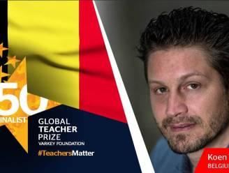 Er was voor het eerst een Belg genomineerd, maar Canadese gaat met prijs voor beste leerkracht lopen