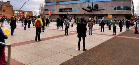 Protest tegen klimaatbeleid in Eindhoven, Waalre en Eersel: 'Tandje erbij, graadje eraf!'