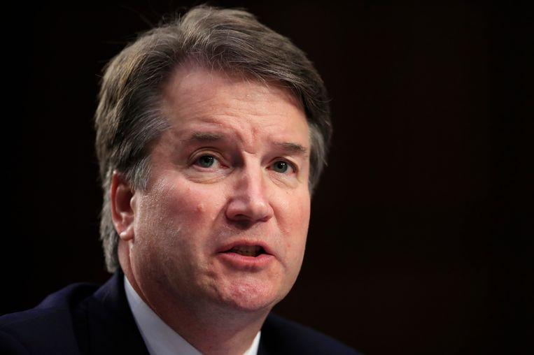 Kandidaat-rechter voor het Amerikaanse Hooggerechtshof Brett Kavanaugh. Beeld AP
