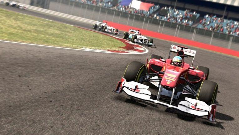 Je ruikt het asfalt in F1 2011. (Beeld Codemasters) Beeld