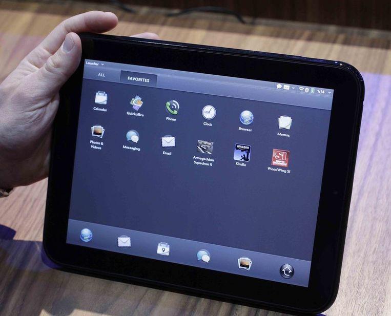 De TouchPad van HP Beeld ap