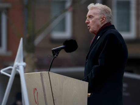 Speech van André van Duin raakt bewoners Watergeusstraat: 'Hij kwam oprecht en emotioneel over''