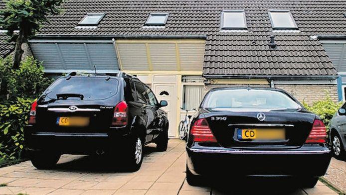 De woning van de waarnemend ambassadeur van Suriname in Den Haag. © AD/FRANK DE ROO
