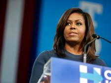 Michelle Obama emotioneel over seksopmerkingen Donald Trump