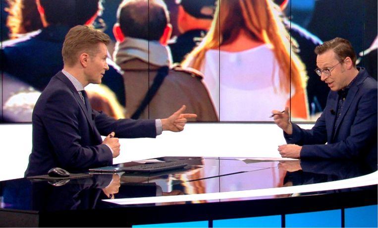 1,8 miljoen Vlamingen keken op 27 maart naar 'Het journaal'. Het deed deugd om te merken dat Vlaanderen in bizarre tijden nog steeds heel erg op zijn openbare omroep leunt. Beeld