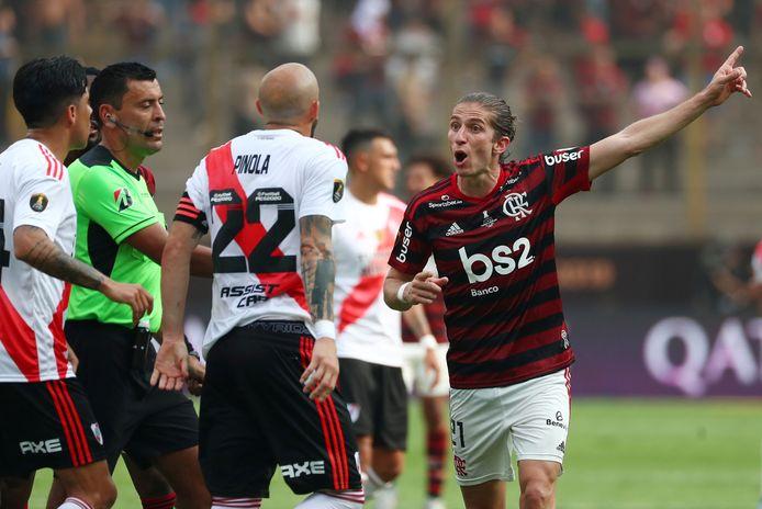 Filipe Luis speelt tegenwoordig voor Flamengo.