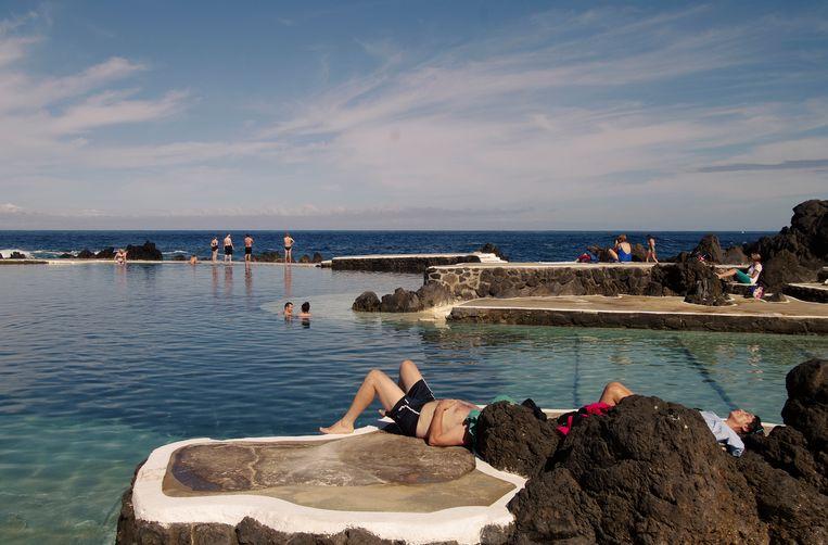 Piscinas Naturais de Porto Monìz (Madeira Portugal) Beeld Henk Sloos