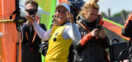 Windsurfster De Geus opnieuw wereldkampioene