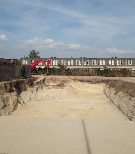 Bouwput voor nieuwbouwproject Zuid Centraal in Apeldoorn ligt klaar