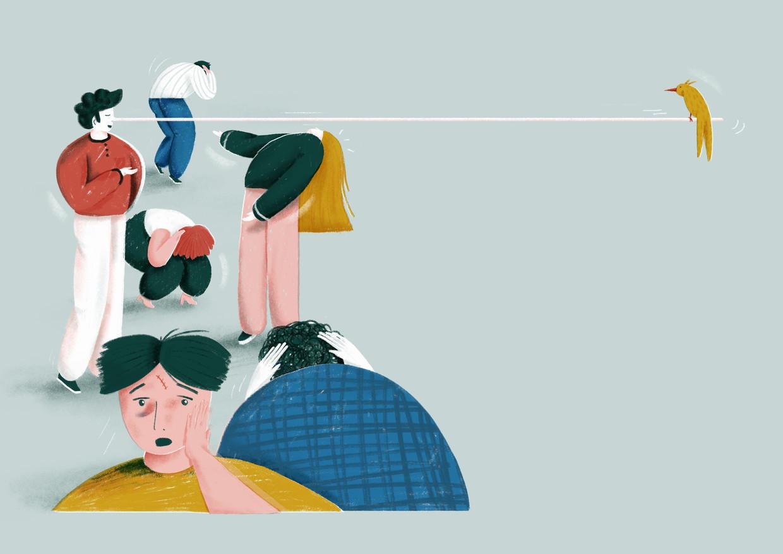 'Juist omdat we ervan overtuigd zijn dat we zelf heilige boontjes zijn, is het moeilijk om een genuanceerd gesprek rond eerlijkheid te hebben', zegt Judi Ketteler, auteur van 'Nooit meer liegen?' Beeld Elise Vandeplancke