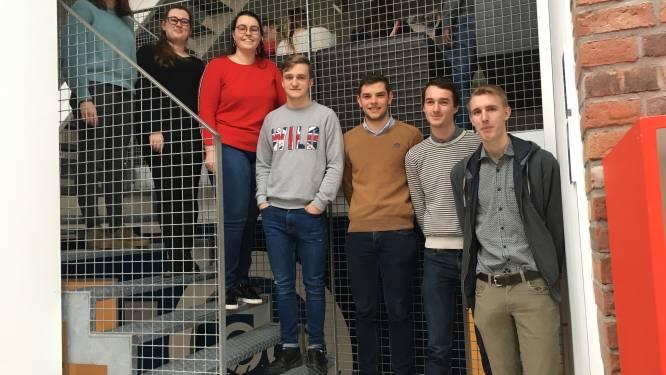 """Zeven studenten aan Vives verdelen een 'Farm To Table'-box,  """"om de korte keten te promoten en de hoevewinkels te steunen"""""""