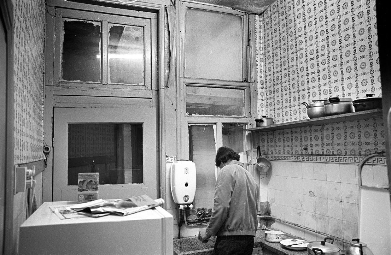 Een pension voor 'gastarbeiders' in Breda, 1979.