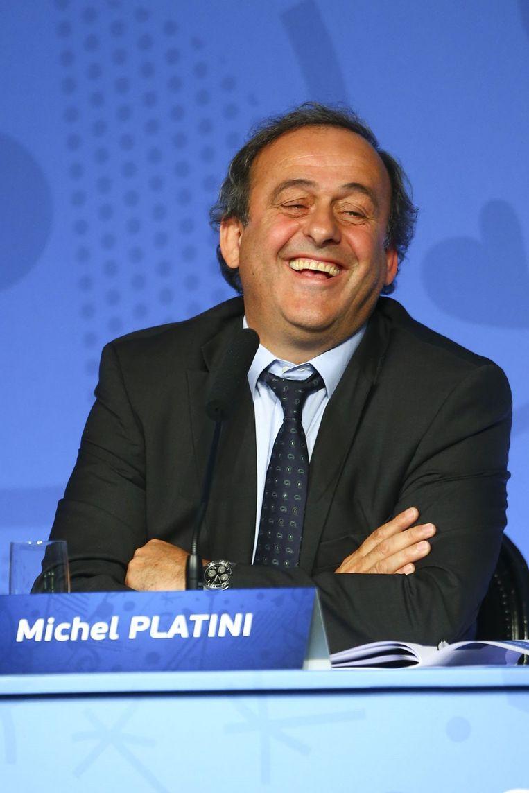 Quid Platini? De Fransman is voorlopig geschorst