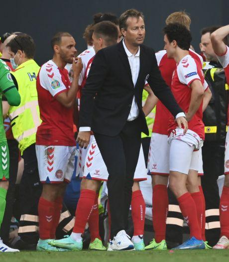 Deense bondscoach na heftige avond: 'De spelers zijn kapot en emotioneel uitgeput'