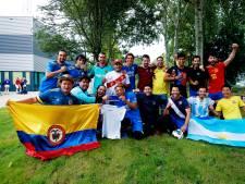 Het elfde elftal van Hercules: 15 nationaliteiten en Spaans als voertaal, maar vooral heel veel plezier