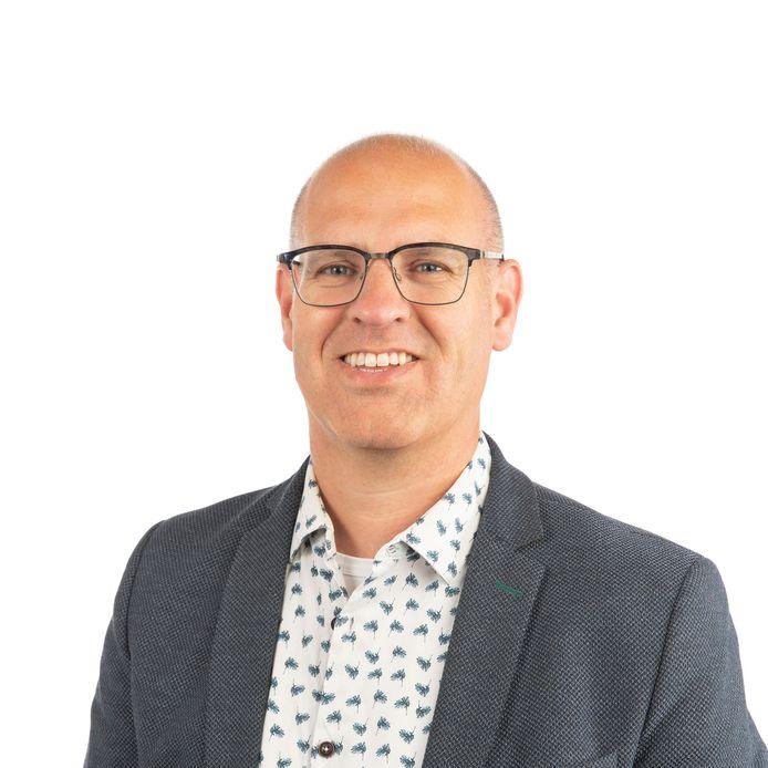 Carlo van Esch, fractievoorzitter van de PGB in de gemeenteraad van Oisterwijk.