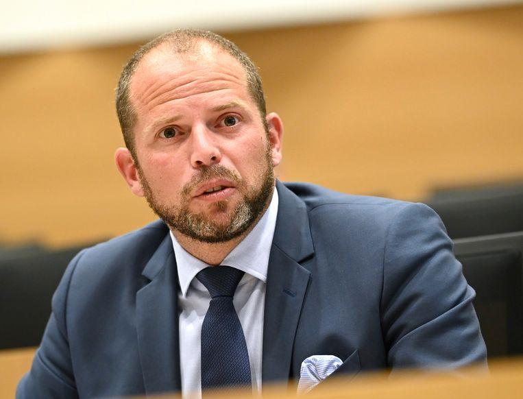 Kamerlid Theo Francken vroeg donderdagochtend de Kamercommissie vervroegd te laten samenkomen. Beeld Photo News