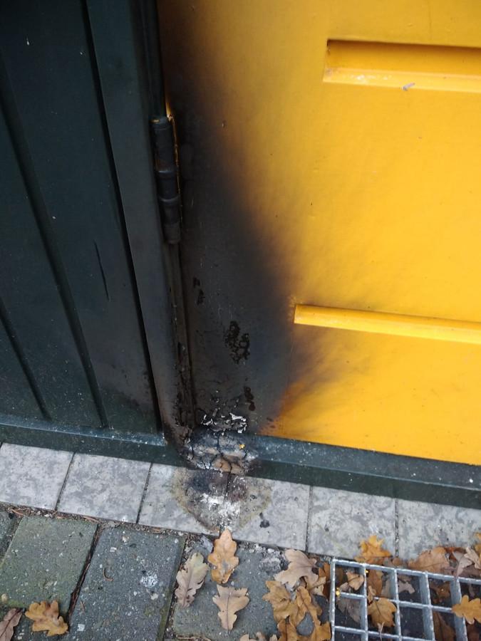Brandstichting bij het sekshuisje van Jos Wolthuis in Reutum.