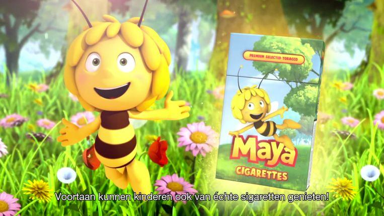 Studio 100 eist dat Greenpeace de campagne met Maya de Bij stopzet. Beeld Greenpeace