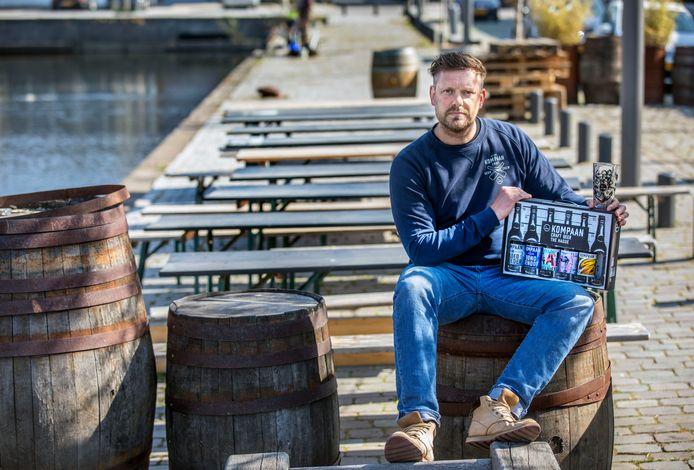 Jeroen van Ditmarsch probeert op alle mogelijke manieren 'geld naar voren te halen'. Zoals met het initiatief van 'live tasting' via Facebook.