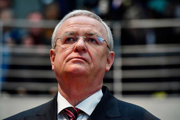 Archiefbeeld. Voormalig Volkswagen-topman Martin Winterkorn.