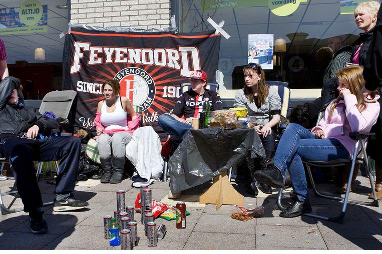 Feyenoordfans (ANP) Beeld