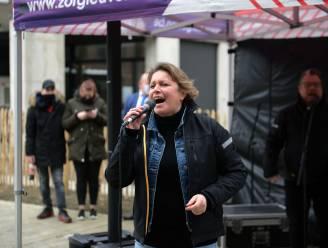 """Feestje met zangeres Vanessa Chinitor in wzc Remy in Leuven: """"Om geslaagde vaccinaties te vieren"""""""
