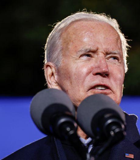 """Biden critique les actions """"coercitives"""" de la Chine dans le Détroit de Taïwan"""