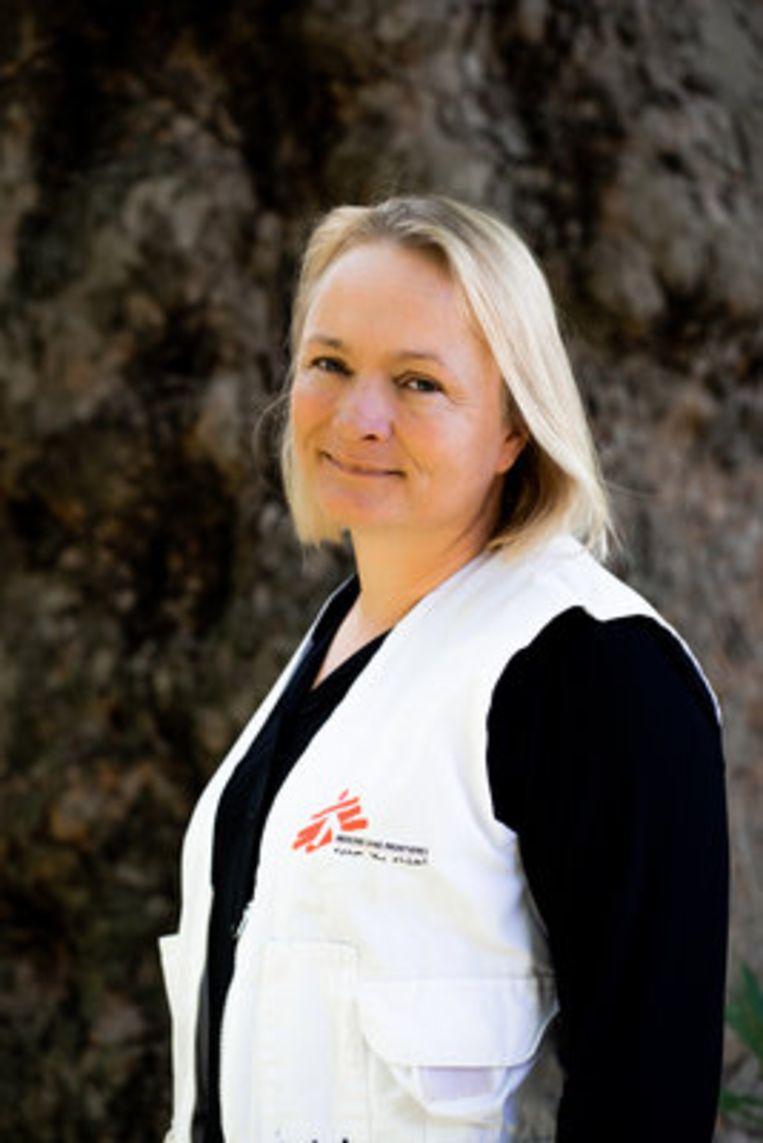Karline Kleijer, noodhulpcoördinator Artsen zonder Grenzen. Beeld Nina Voordes