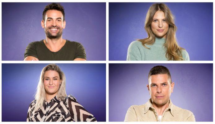 Big Brother: Michel, Liese, Jill en Nick