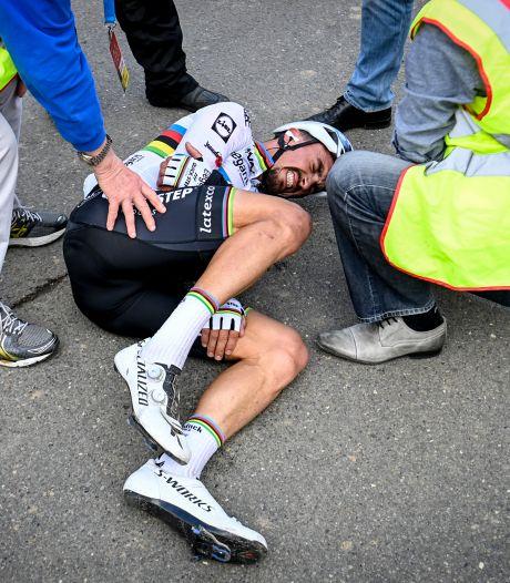 """Le message optimiste de Julian Alaphilippe après sa chute: """"Je veux retourner en Flandres"""""""