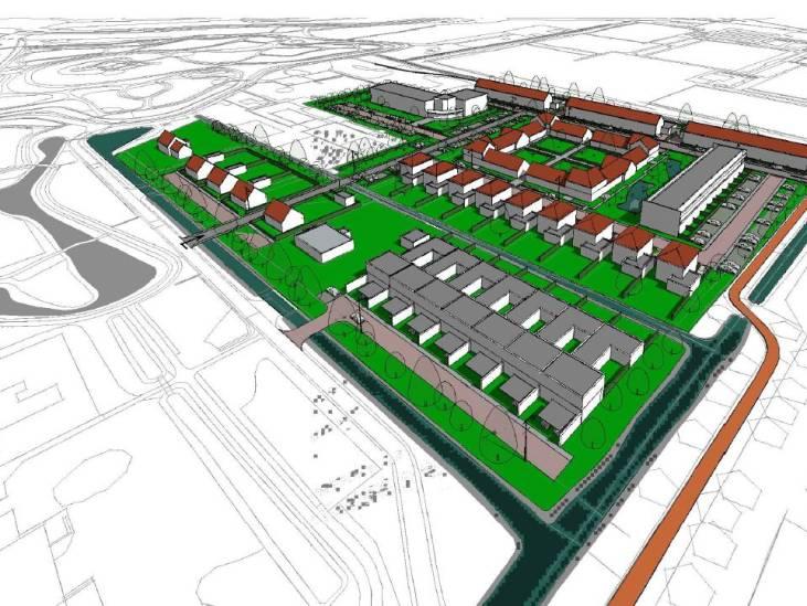 Projectontwikkelaar vindt zíjn bouwplan beter dan dat van gemeente en wil daar op deze manier achterkomen