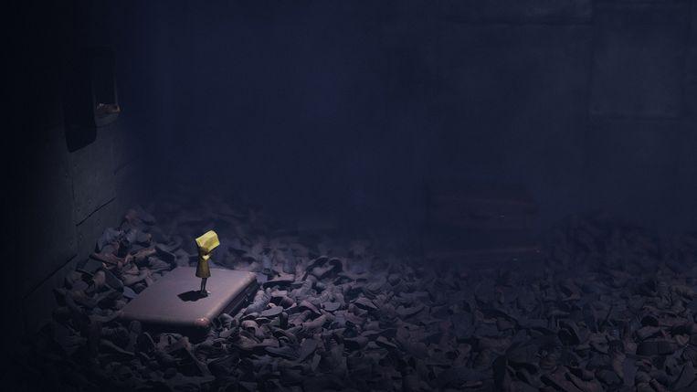 Screenshot uit Little Nightmares. Beeld Bandai Namco