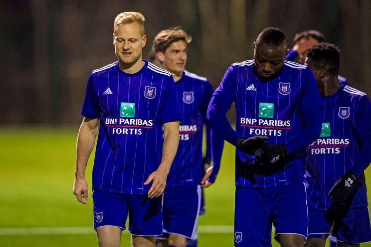 Olivier Deschacht speelde dit jaar nog mee met de beloften van Anderlecht.