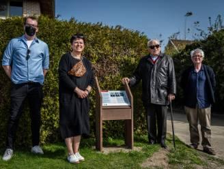 """Jean (88) bezoekt herdenkingsplaat van Emilie en Frans die hem als kind hebben opgevangen tijdens Tweede Wereldoorlog: """"Dit maakt mijn leven compleet"""""""