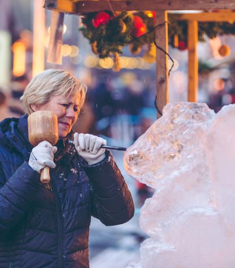 Maak een eigen ijssculptuur op Winterfeest Putten