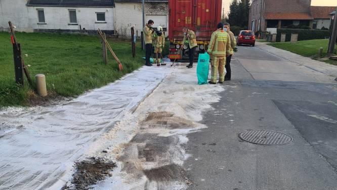 Mazouttank opengescheurd door losliggend deksel: 500 liter in riolering gestroomd