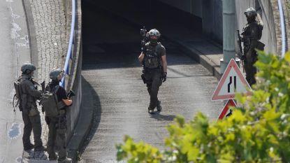 Treinstation Frankfurt even gesloten door bankoverval, drie verdachten opgepakt