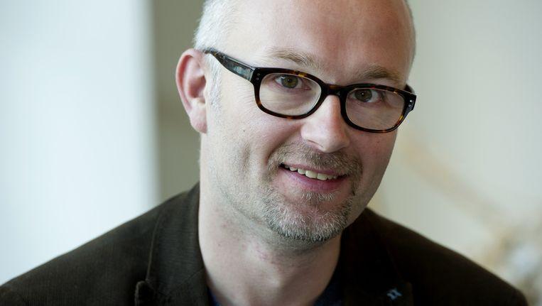 Erik Noomen na drie jaar weg als hoofdredacteur van de Nieuwe Revu. Beeld ANP