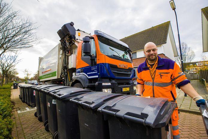 Patrick van der Weegen van de Afvalstoffendienst Den Bosch.
