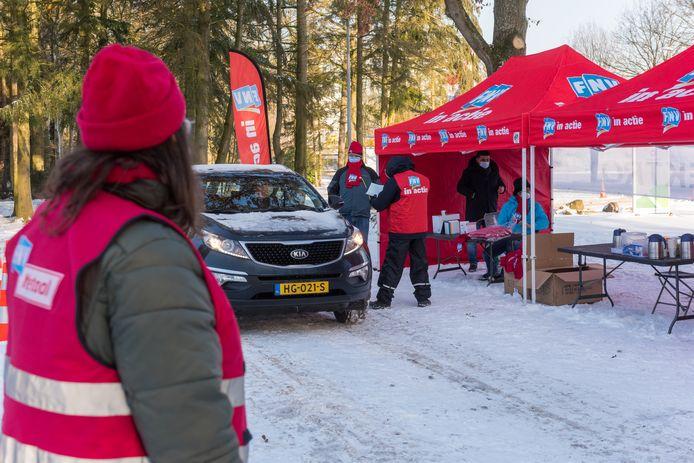 Begin februari organiseerden de vakbonden een staking bij ASML in Veldhoven.
