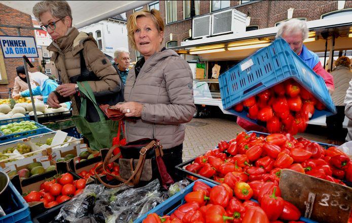 Elke dinsdagochtend heeft Culemborg een weekmarkt.